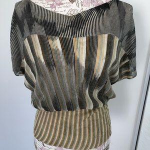 Missoni shimmer blouse